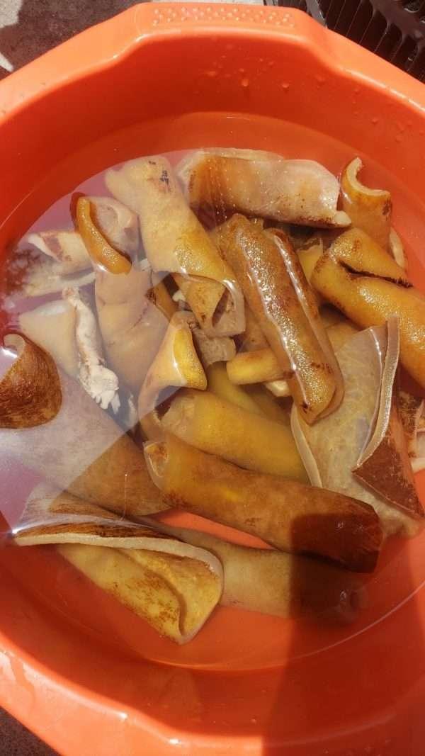 Cow SKin in America USA Ponmo Ijebu Dried and Fresh MEat