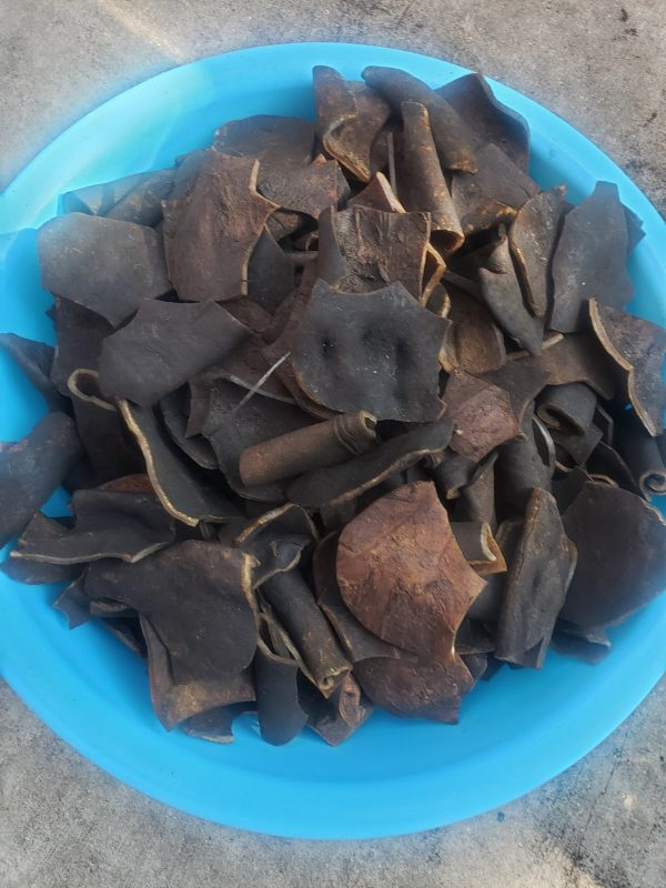 Dried Ponmo Ijebu, how to prepare, soak it for 48hours